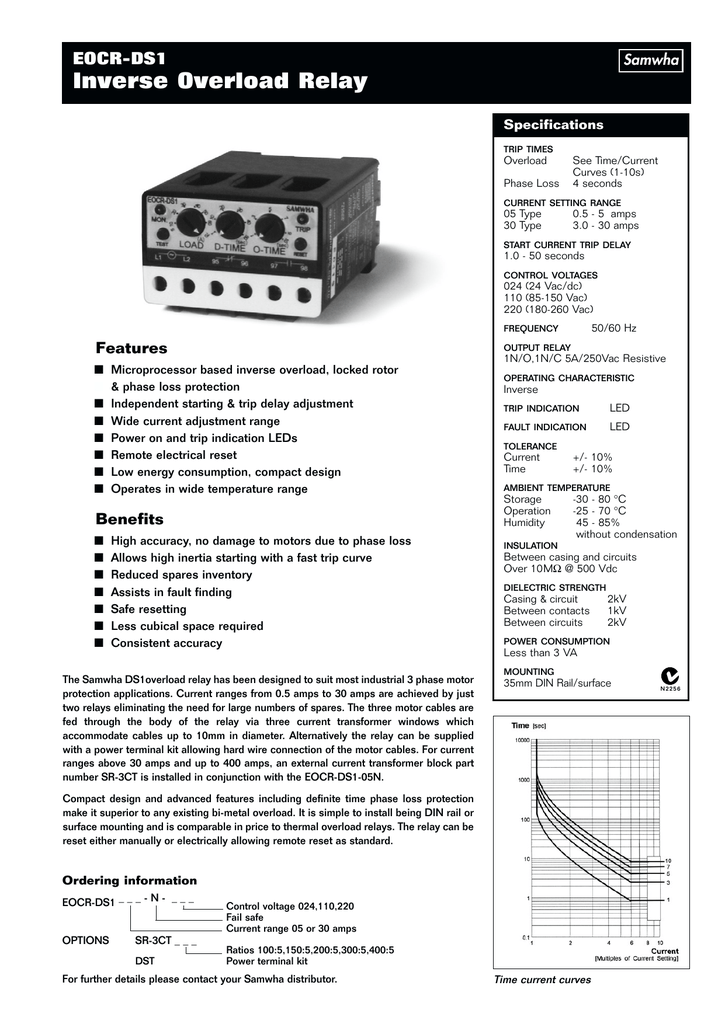 Inverse Overload Relay