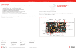 Getting Started with the Virtex-7 FPGA VC707 Evaluation Kit