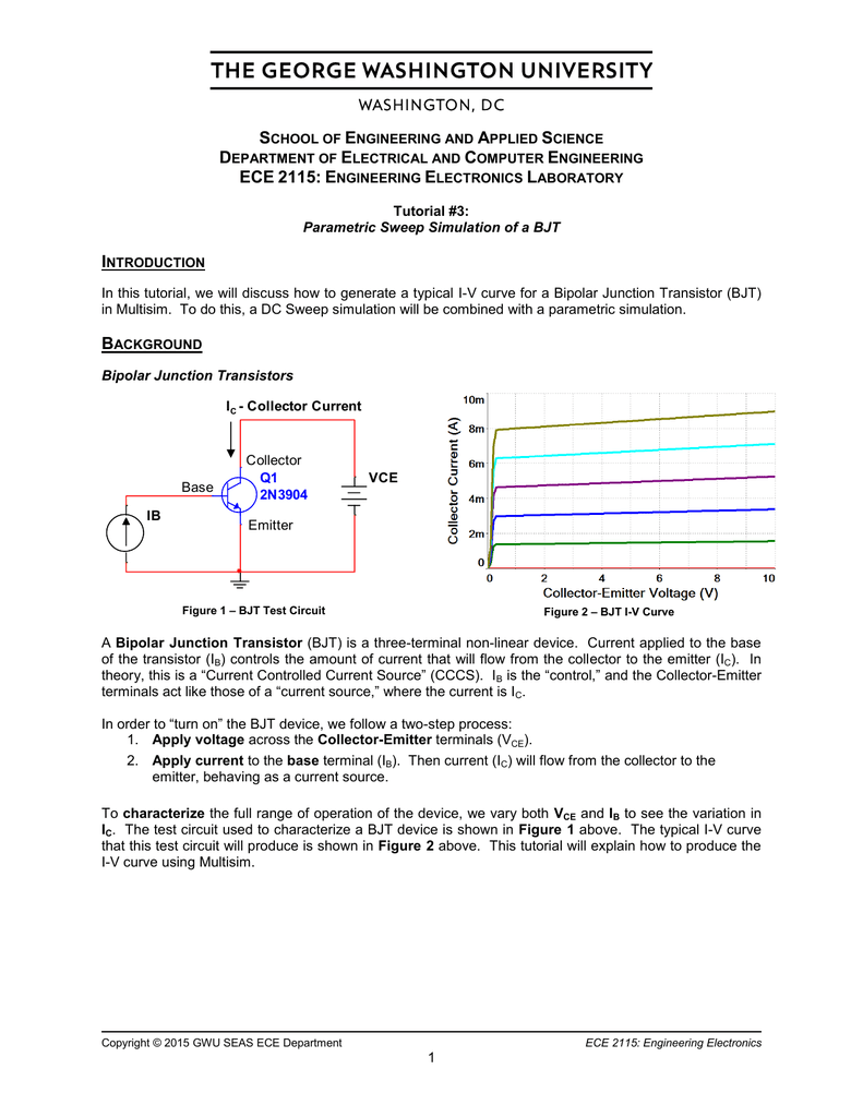 Bjt Equation Sheet For The Circuit Shown Input Is Current So Cheggcom Parametric Sweep Simulation Of A