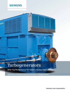 Turbogenerators