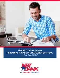 Personal Financial Management Tool How To Guide