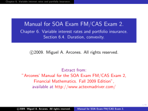 Manual for SOA Exam FM/CAS Exam 2.