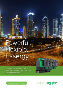 Powerful. Flexible. Easergy. - Schneider Electric Belgique