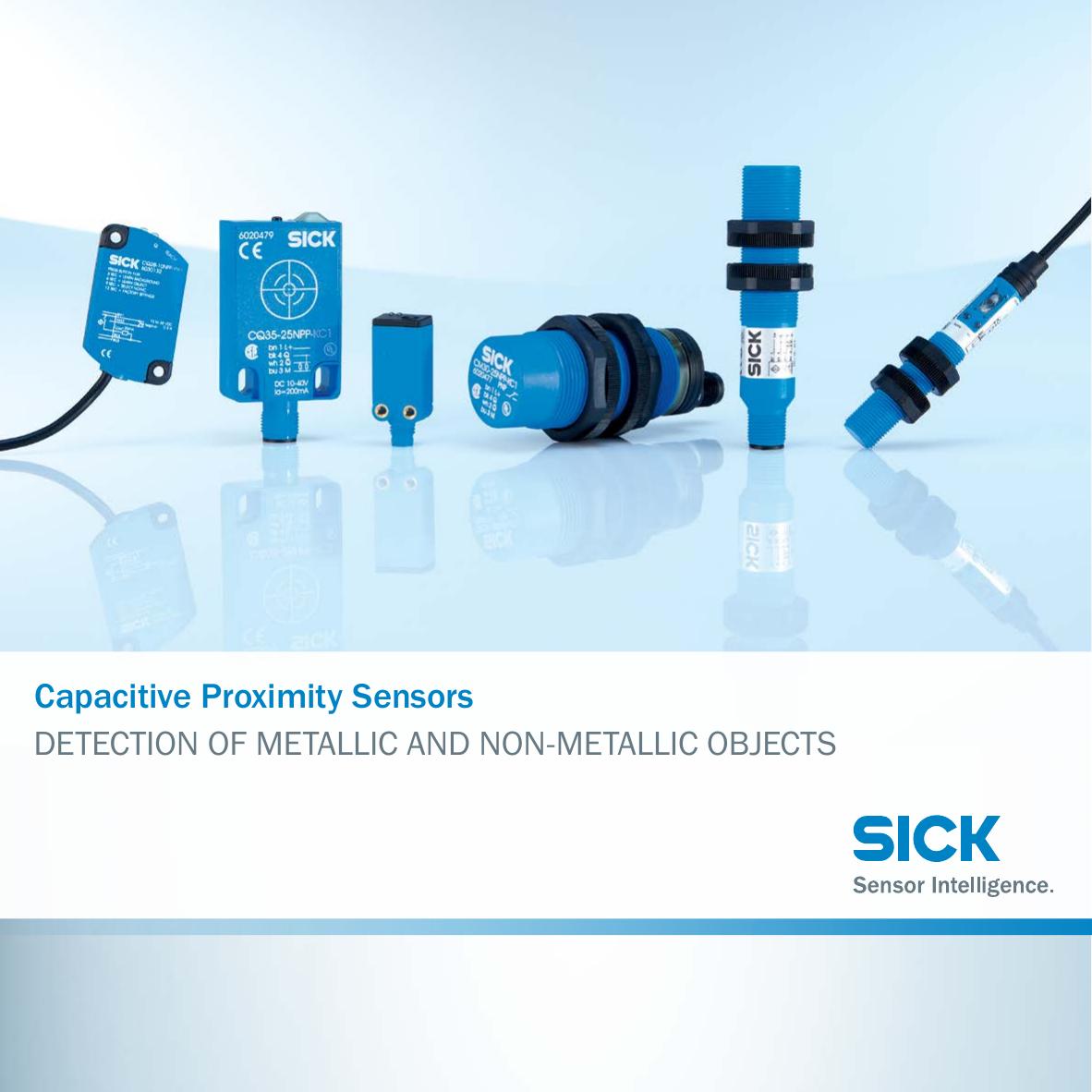 Capacitive Proximity Sensors DETECTION OF METALLIC AND NON