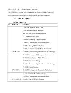 infocoms second year media dept supplementary examinations 2015