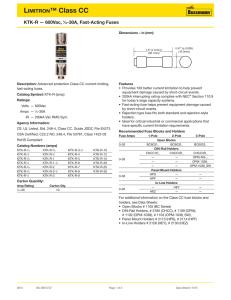 Pack of 1 Bussmann LPCC-5-6//10 600VAC Fuses