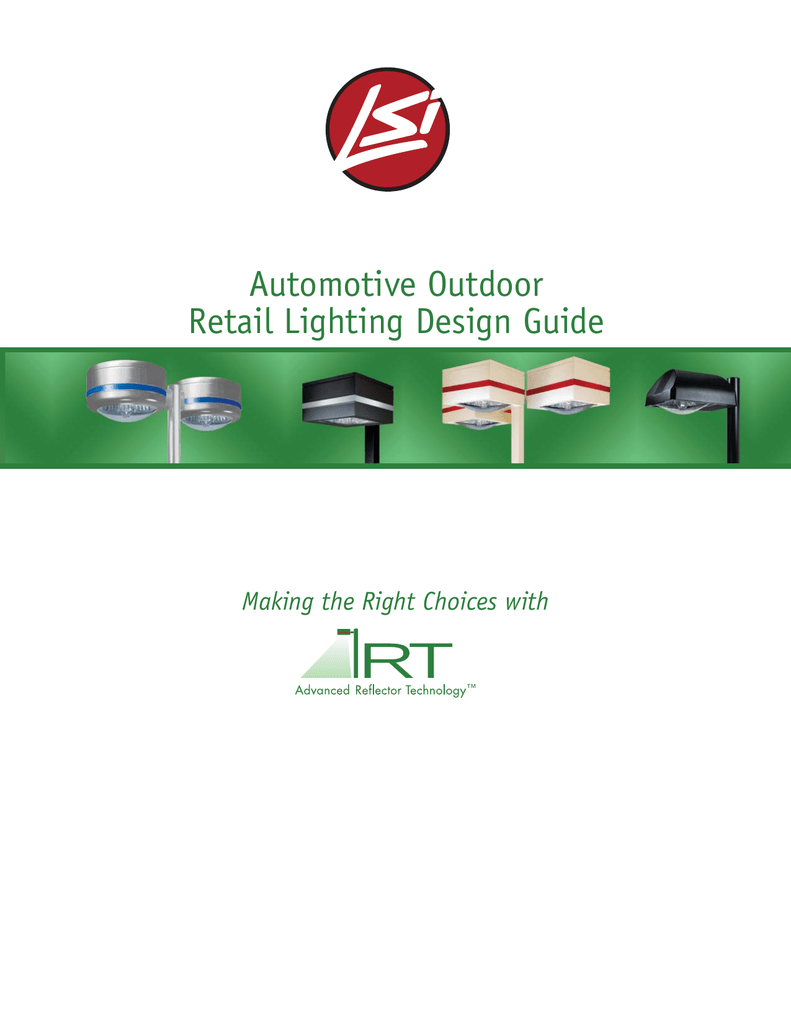 Automotive Outdoor Retail Lighting Design Guide