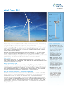 Wind Power 101