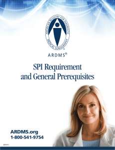 SPI Requirement and General Prerequisites