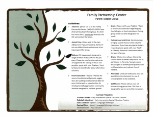 Family Partnership Center - North Thurston Public Schools