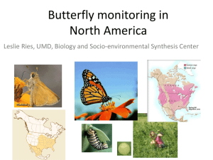 Butterfly Informatics: Access, Visualization, and Analysis of butterfly
