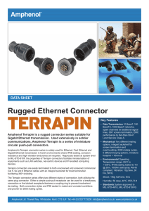 Rugged Ethernet Connector