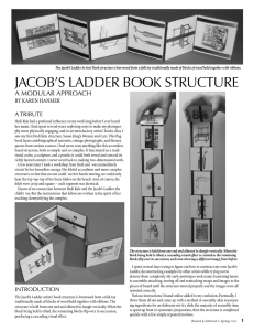 jacob`s ladder book structure