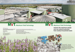 Maximum Yield Technology Maximum Yield Technology