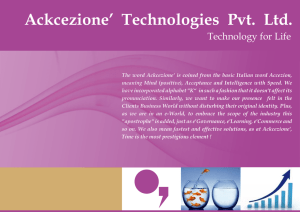 Ackcezione` Technologies Pvt. Ltd.