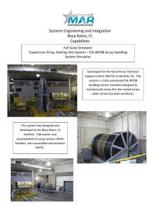 Systems Engineering and Integration Boca Raton, FL Capabilities