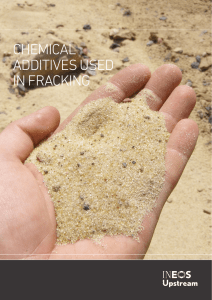 chemical additives used in fracking