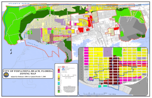 CITY OF FERNANDINA BEACH, FLORIDA ZONING MAP