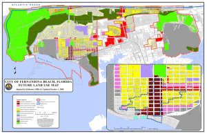 CITY OF FERNANDINA BEACH, FLORIDA FUTURE LAND USE MAP