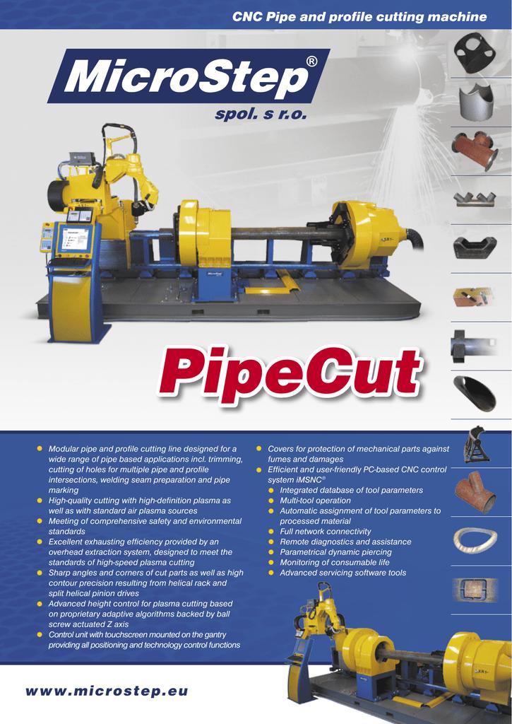 www microstep eu CNC Pipe and profile cutting machine