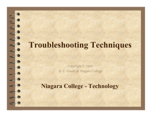 Troubleshooting Techniques - Technology