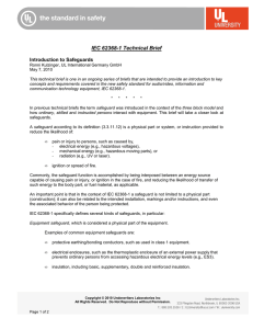 IEC 62368-1 Technical Brief