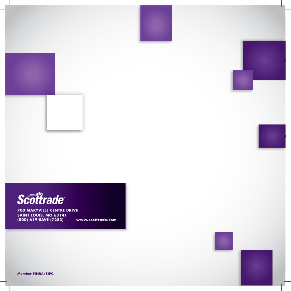 Scottrade Quotes And Research 700 Maryville Centre Drive Saint Louis Mo 63141 800