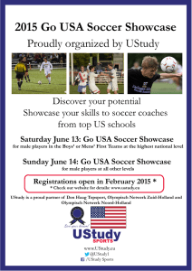 2015 Go USA Soccer Showcase