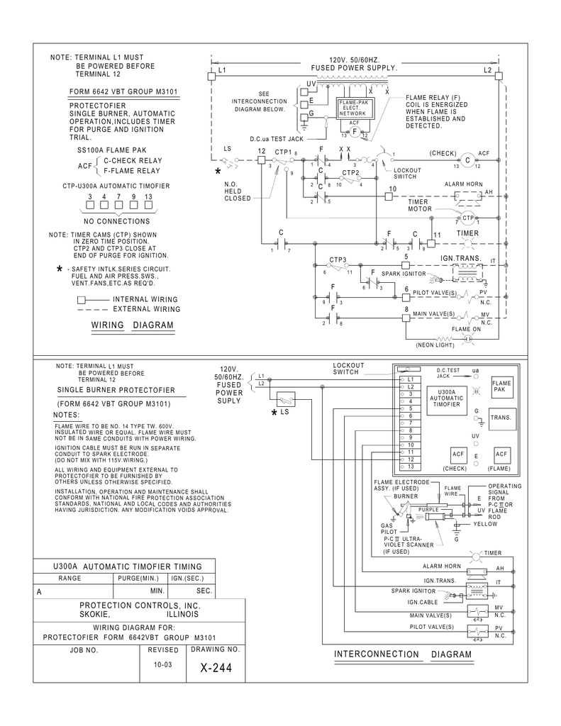 Interconnection Diagram Wiring Diagram
