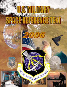 US Military Space Reference Text 2006