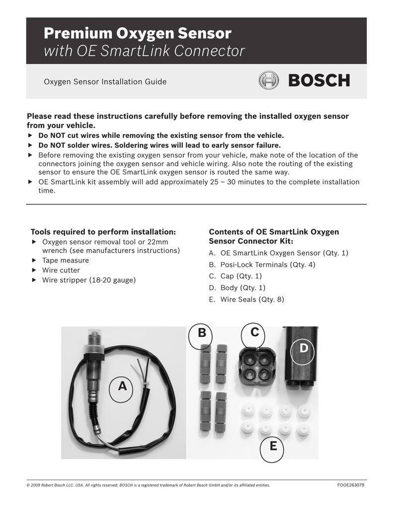 Premium Oxygen Sensor with OE SmartLink
