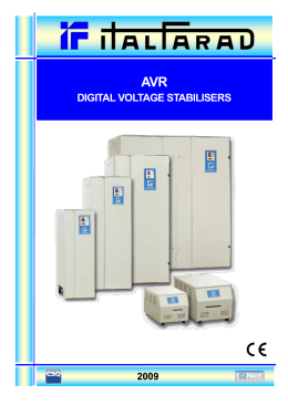 DIGITAL VOLTAGE STABILISERS