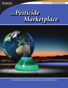 The Pesticide Marketplace, Discovering and Developing New
