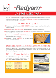 uv stabilized yarn