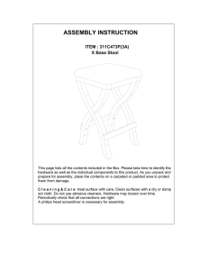 Instructions / Assembly