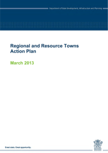 Regional and Resource Towns Action Plans