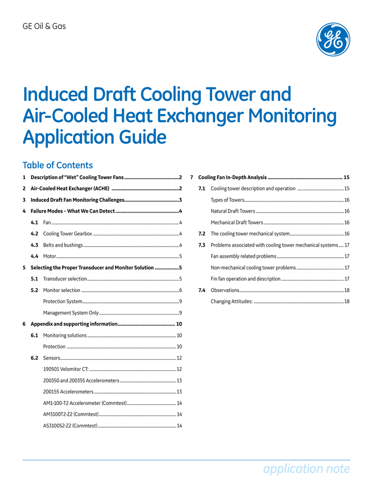 Induced Draft Cooling Tower and Air