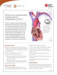 What Is an Implantable Cardioverter