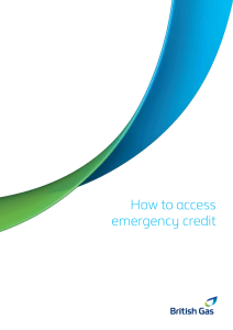 How to access emergency credit