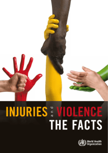 Injuries and violence: the facts