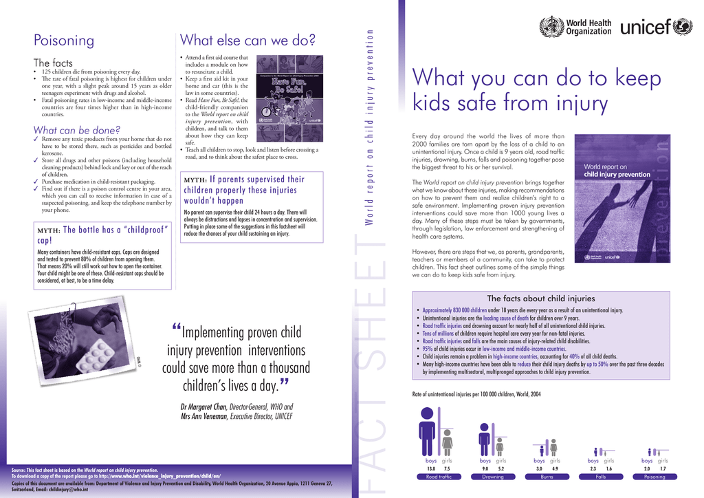 What you can do to keep kids safe from injury
