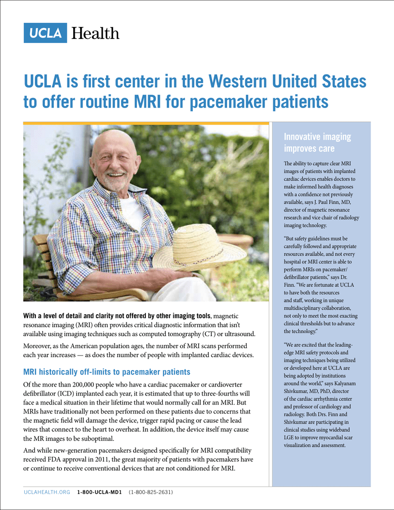 UCLA is first center in the Western United States to