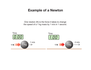 Example of a Newton