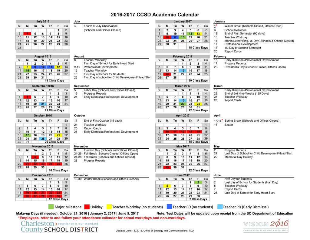 Ccsd Calendar.Ccsd Academic Calendar
