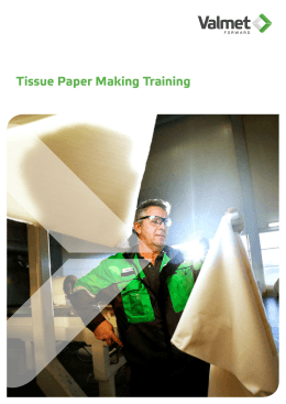 Tissue Paper Making Training