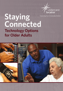 Staying Connected: Technology Options for Adults