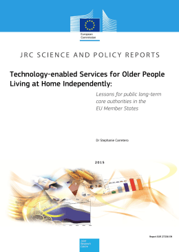Technology-enabled Services for Older People Living at Home