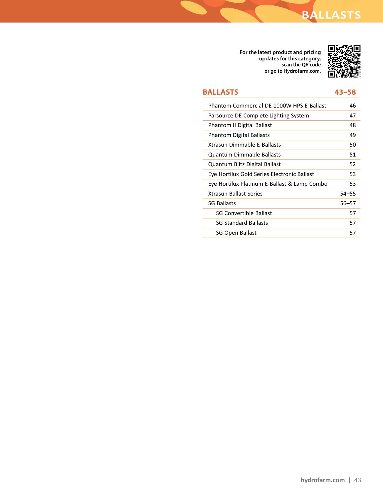 Ballasts Hydrofarm 1000w Sodium Ballast Wiring Diagram