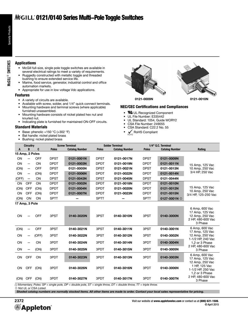 WRG-7511] Mcgill Switch Wiring Diagram