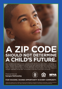 A Zip Code Should Not